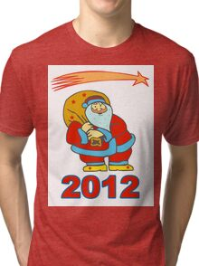 Happy new year 2012 Tri-blend T-Shirt