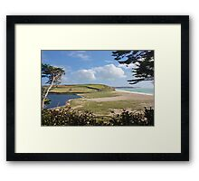 Loe Bar Cornwal Framed Print
