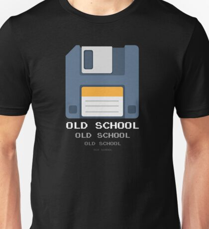 Old Computer Floppy Diskette Unisex T-Shirt
