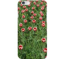 Large field of tulips iPhone Case/Skin
