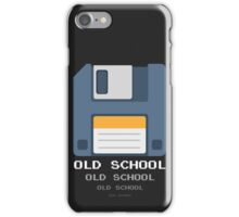 Old Computer Floppy Diskette iPhone Case/Skin