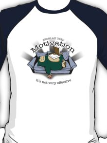 Snorlax Used Motivation... T-Shirt