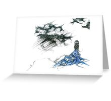 Blue Paramour Greeting Card