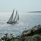A Perfect Sailing Day in Rhode Island by Jack McCabe