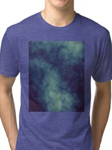 Smoke Texture with Paper Texture 4 Tri-blend T-Shirt