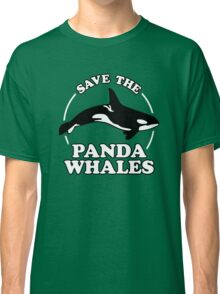 Save The Panda Whales Classic T-Shirt