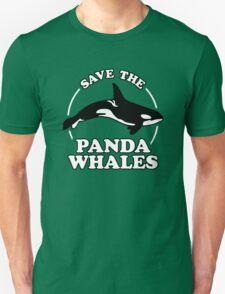 Save The Panda Whales T-Shirt