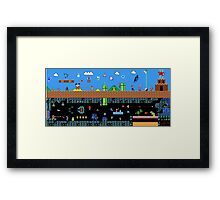 The Great Sprite Battle Framed Print
