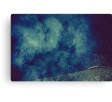 Smoke Texture with Paper Texture 6 Canvas Print