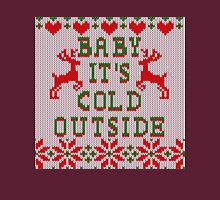 Baby It's Cold Outside Ugly Sweater Style T-Shirt