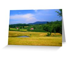Breathtaking North Carolina Country Greeting Card