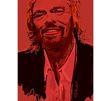 Branson in Red Photographic Print