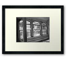 Trolley Ride Framed Print