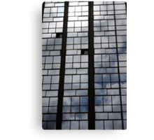 Clouds On Glass  Canvas Print