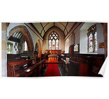 St Thomas Becket, Brightling - Chancel Poster