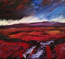 'Haworth Moor, Yorkshire' by Martin Williamson (©cobbybrook)