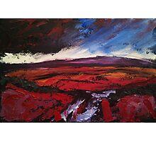 'Haworth Moor, Yorkshire' Photographic Print