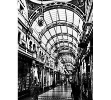Leeds arcade Photographic Print