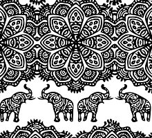 Indian Elephants by sleeping-tigers