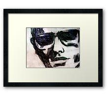 Undercover Framed Print