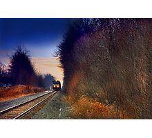 """ Sunset Express "" Photographic Print"