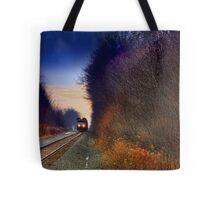 """ Sunset Express "" Tote Bag"