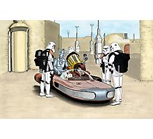 These Aren't the Droids You're Looking For Photographic Print
