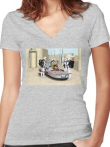 These Aren't the Droids You're Looking For Women's Fitted V-Neck T-Shirt