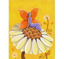 Singing Camomile Fairy Photographic Print