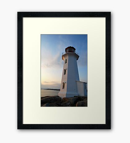 Safe Haven 3 - Peggy's Cove Framed Print