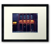 CHINESE AMERICAN MUSEUM Framed Print