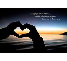 My Heart's Delight Photographic Print
