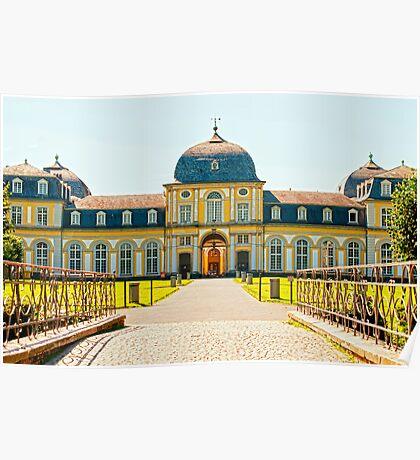 Castle Poppelsdorf Poster