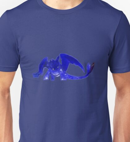 Glowing Toothless - Blue Unisex T-Shirt