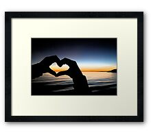 My Heart's Delight - Without verse Framed Print