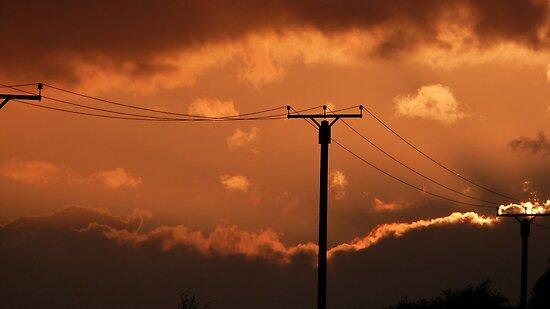 Sunset Charge by John Dunbar