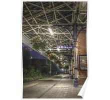 Poulton train station HDR Poster