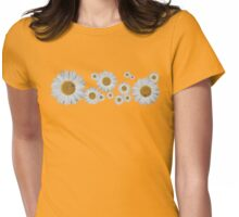For the love of Daisies! Womens Fitted T-Shirt