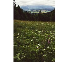 Cloudy Tatra Mountains Photographic Print