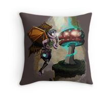 Steampunk Fairy Throw Pillow