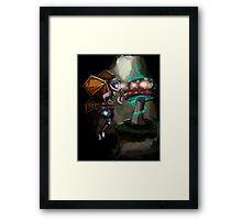 Steampunk Fairy Framed Print