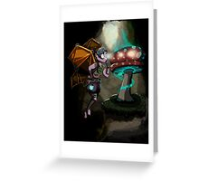 Steampunk Fairy Greeting Card