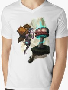 Steampunk Fairy Mens V-Neck T-Shirt