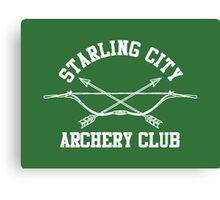 Starling City Archery Club – Arrow, Ollie Queen Canvas Print