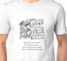 There Is Something Burning In There Unisex T-Shirt
