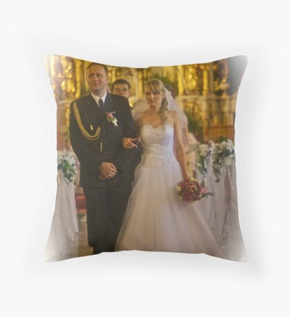 Ave Maria .Miracle Wedding . Zawoja. No.2 . by Brown Sugar . Views (178) favorited by (2) thank you ! Throw Pillow