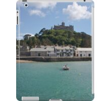St Michael's Mount From The Ferry Boat iPad Case/Skin
