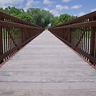 Bridge at Halsey National Forest by Krysanthium