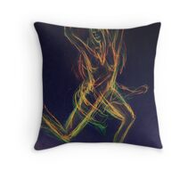 Feeling the Moment II Throw Pillow