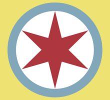 Captain Chicago (Clean) Kids Tee